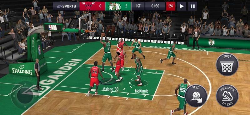 Trọn bộ thông tin từ A đến Z về Game NBA Live Mobile Basketball