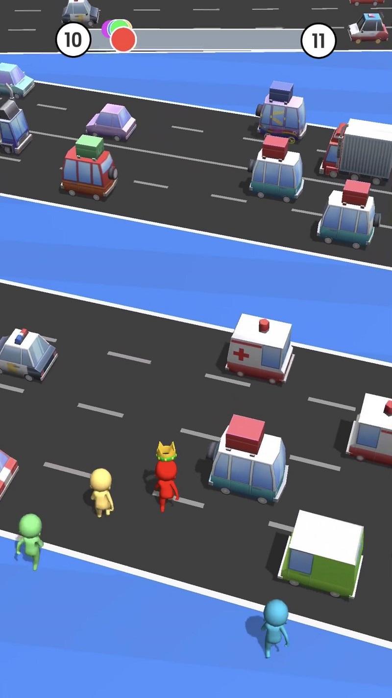 Cách chơi game Road Race 3D dễ dàng - đơn giản - hiệu quả