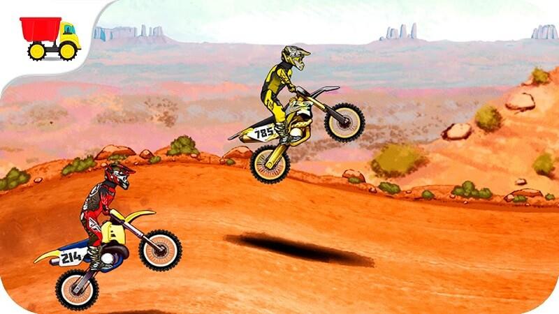 Game Mad Skills Motocross 2 - Trò chơi mạo hiểm với những siêu xe