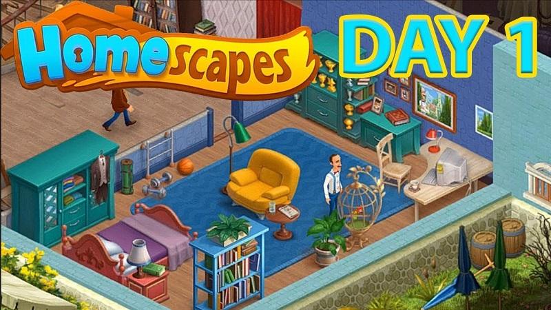 Game Homescapes - Xây đế chế chưa bao giờ dễ dàng hơn thế