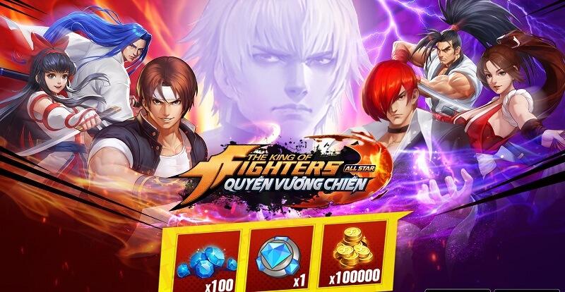 [Chia sẻ] Game KOF AllStar – Quyền vương chiến cực hấp dẫn