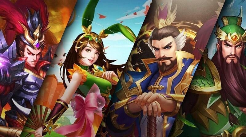 Game Danh tướng 3Q – Nhập vai vị tướng yêu thích trong Tam Quốc