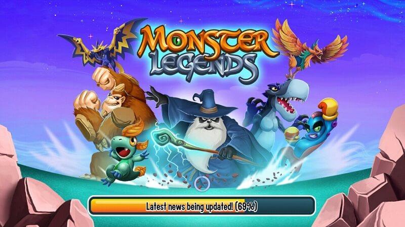 Download Game Monster Legends - Nuôi và huấn luyện quái thú