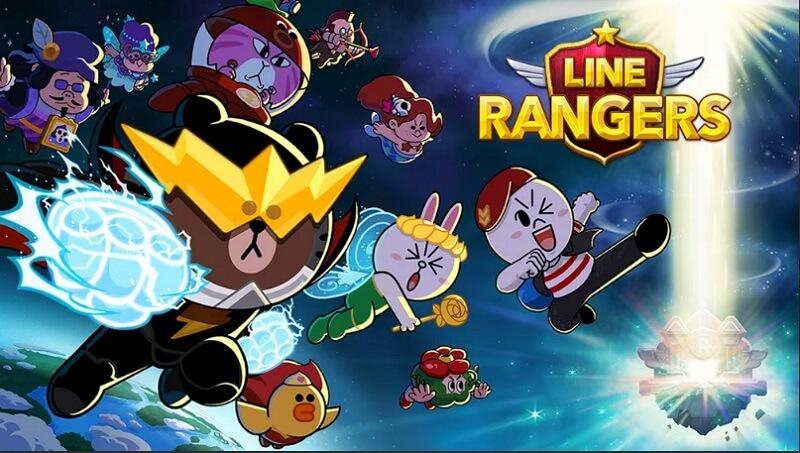 Chơi game LINE Rangers đỉnh cao giải cứu chú thỏ Sally