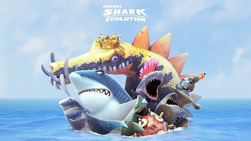 Hungry Shark Evolution - Game hành động cá mập cực hấp dẫn
