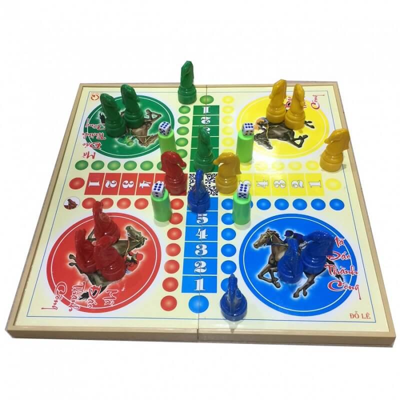 Game cờ cá ngựa - Trò chơi nhanh tay, nhanh trí cho các bạn trẻ