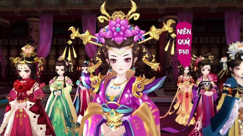 360mobi Mộng hoàng cung - Game cung đấu gay cấn số 1 Việt Nam