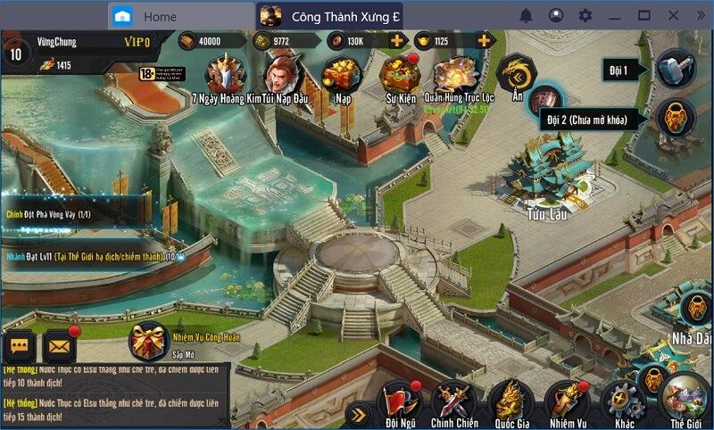 Khám phá game chiến thuật đỉnh cao Công thành xưng đế mobile