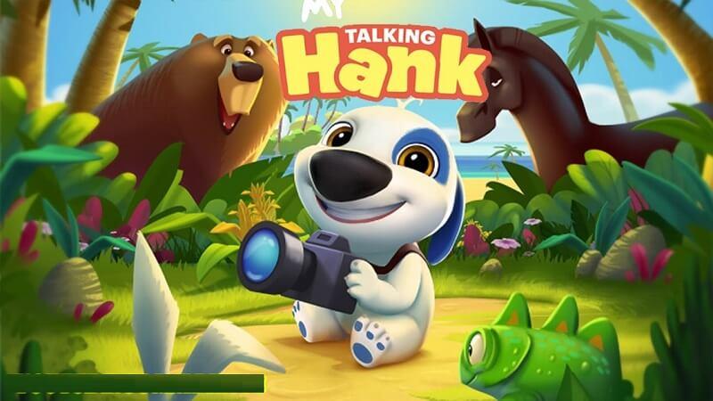 Game My Talking Hank - Team yêu cún đừng bỏ qua tựa game này