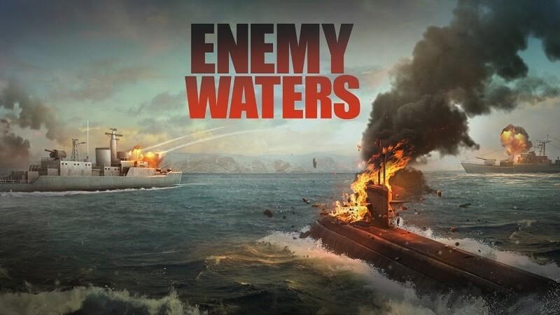 Enemy Waters - Game tàu ngầm chiến tranh cực gay cấn trên điện thoại