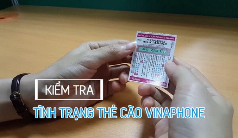 Kiểm tra thẻ cào Vina đã nạp hay chưa bằng cách gọi tổng đài