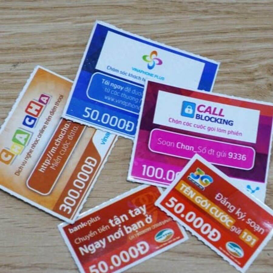 nhu cầu mua thẻ điện thoại bằng thẻ tín dụng