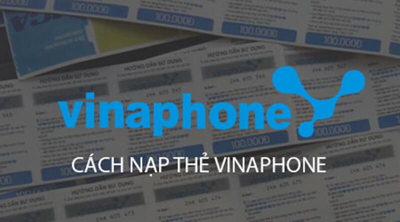 Cashc nạp thẻ Vinaphone chiết khấu cao