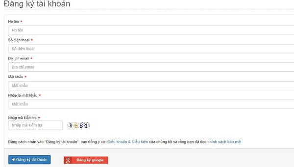 Đăng ký mua thẻ online trên ứng dụng mua thẻ điện thoại Banthe247.com