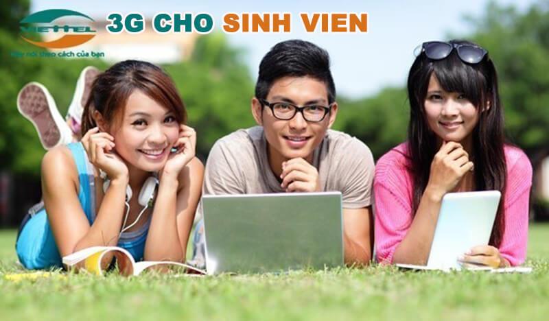 Đăng ký 3G Viettel cho sinh viên