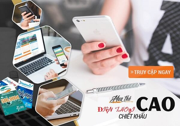 Lợi ích nhận được khi dùng ứng dụng mua thẻ điện thoại banthe247.com