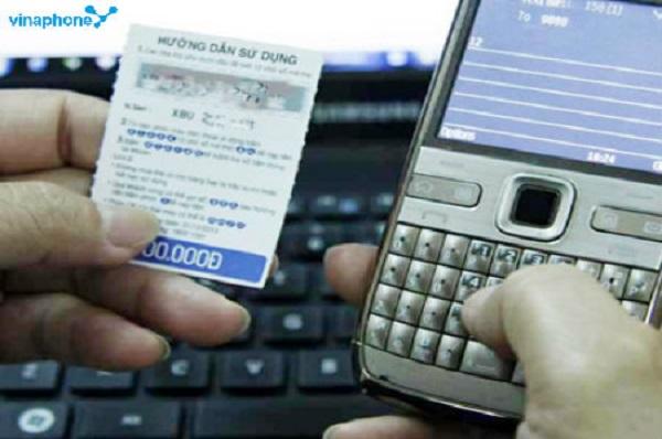 Mã thẻ cào vinaphone có bao nhiêu số?