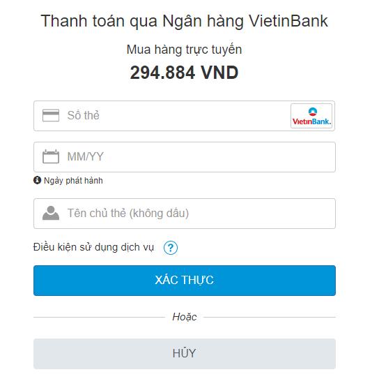 mua thẻ điện thoại online vietinbank