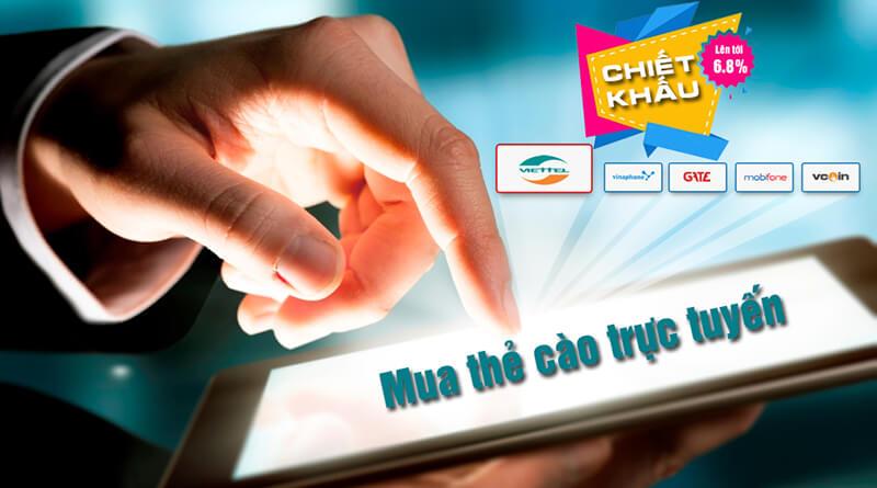 Bí quyết mua thẻ cào online