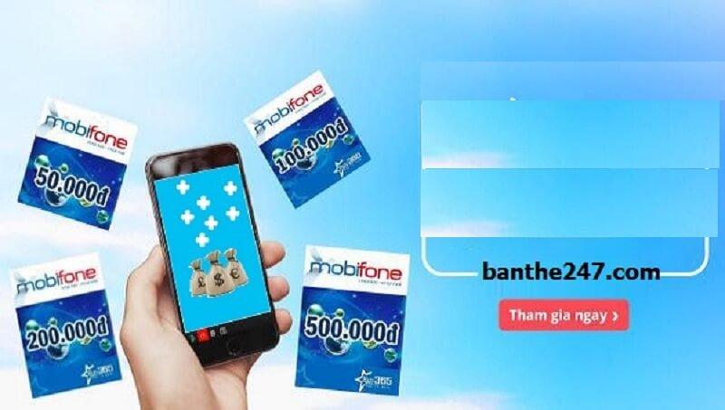 Chi tiết cách mua thẻ điện thoại dưới mọi hình thức từ banthe247.com