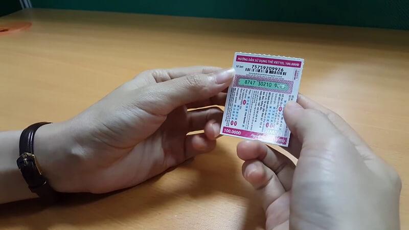 Cách mua thẻ viettel 50k