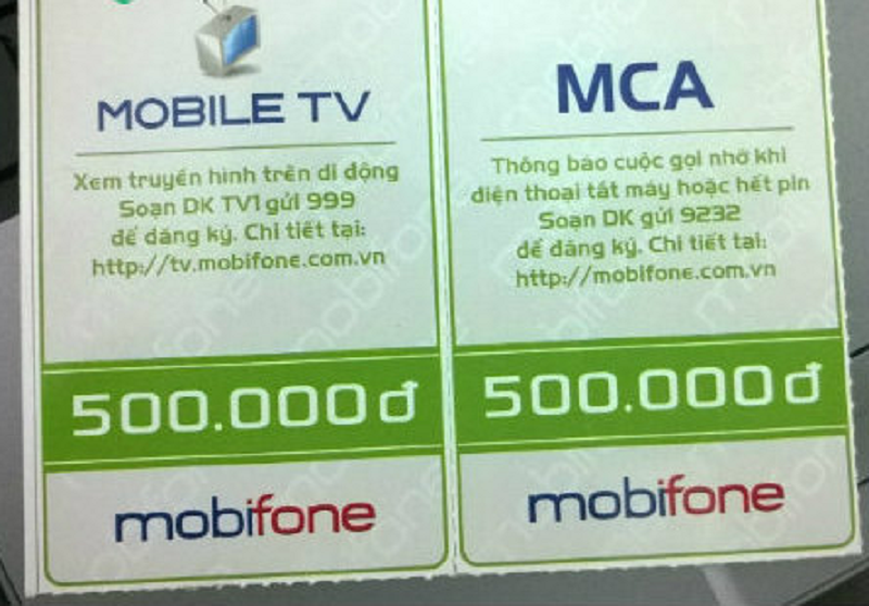 thẻ cào mobifone bị mất số phải làm sao