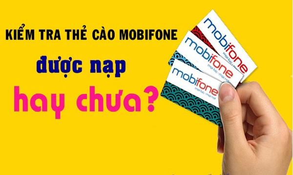 thẻ cào mobifone bị rách
