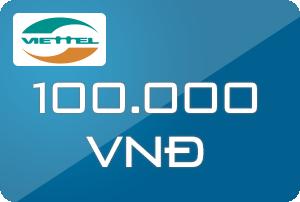 Thẻ Viettel 100k