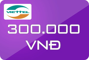 Thẻ Viettel 300k