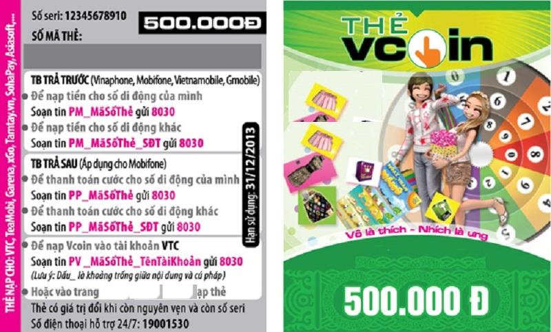 thẻ Vcoin là gì- Nhanh tay mua thẻ vcoin tại địa chỉ nào?