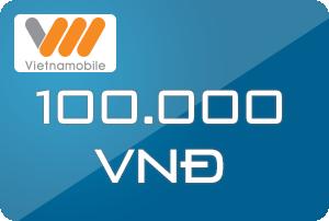 Thẻ vietnamobile 100k