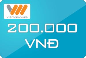 Thẻ Vietnamobile 200k