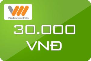 Thẻ Vietnamobile 30k