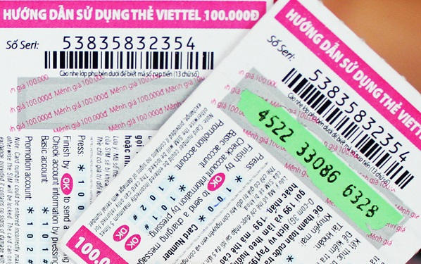 Vì sao không nạp được thẻ Viettel