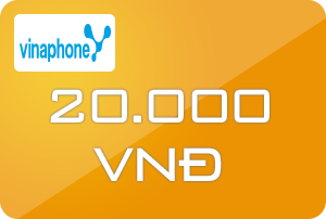 Thẻ Vinaphone 20k