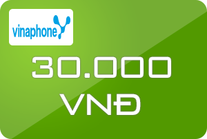 Thẻ Vinaphone 30k