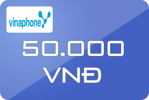 Thẻ Vinaphone 50k