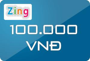 thẻ Zing 100k