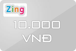 Thẻ Zing 10k