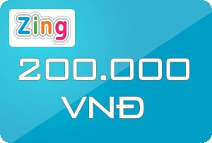 Thẻ Zing 200k