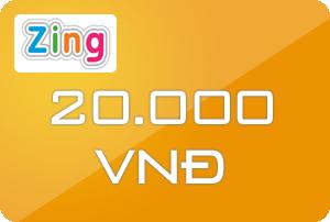 Thẻ Zing 20k