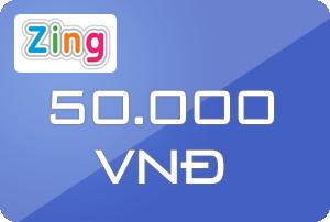 Thẻ Zing 50k