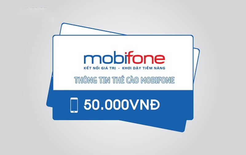 Thông tin thẻ cào Mobifone mà bạn cần biết