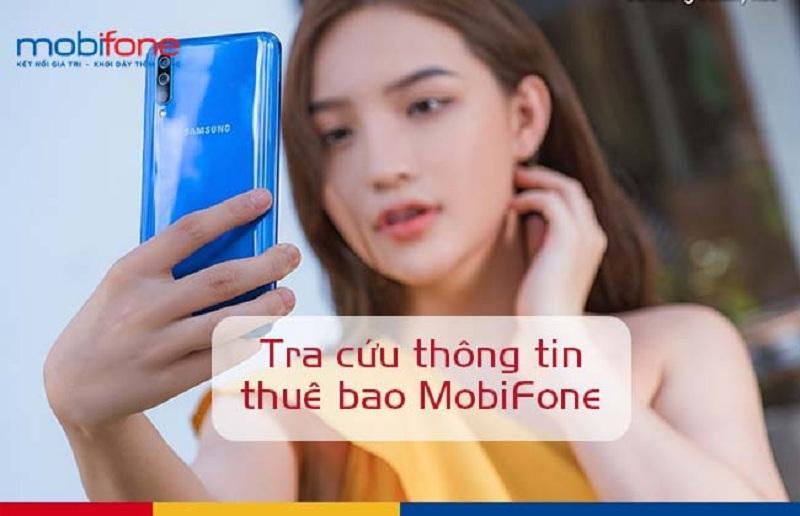 tra cứu thông tin thuê bao mobifone