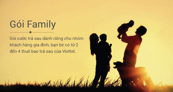 Gói cước Family